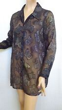 SIZE-10/14, VERTICE Blouse Made In New Zealand.