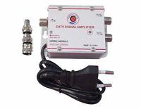 ds Amplificatore Segnale Tv Sdoppiatore Antenna 2 Uscite Digitale Terrestre linq