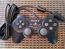 Official Genuine OEM Sony PlayStation PS2 Black Dual Shock Controller