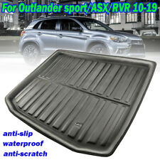 For Mitsubishi ASX 2010-2019 Boot Liner Tray Cargo Rear Trunk Floor Mat Carpet