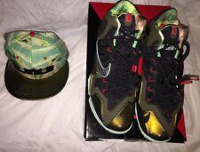 Nike Basketball Lebron James 11 Xi Kings Pride Mens Size 9 Us W/ Free Snapback