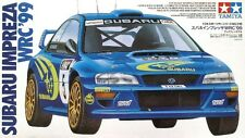 Tamiya 24218 1/24 Scale Model Rally Car Kit Subaru Impreza STi WRC'99 GC8