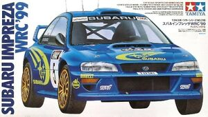 Tamiya 24218 1/24 Scale Model Rally Car Kit Subaru Impreza STi WRC'99 GC8