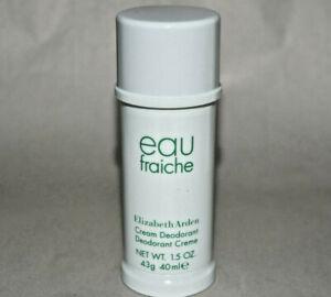 eau fraiche Elizabeth Arden cream deodorant 1.5 oz