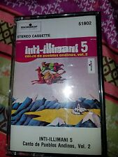 Inti-Illimani 5 : Canto De Pueblos Andinos, Vol. 2 [Cassette] New and Sealed