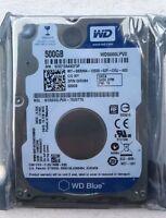 """Western Digital Blue 500GB 5400RPM SATA 8MB Cache 2.5"""" Hard Drive WD5000LPVX"""