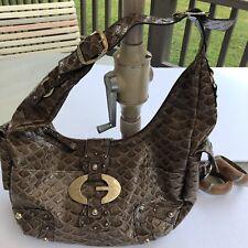 GUESS Crocodile Brown Handbag