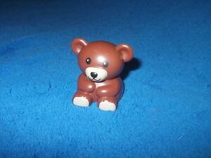 Lego Duplo Ville Weihnachten 1 X Teddybär Bär Braun aus 10837 Teddy Kuschelbär
