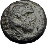 ALEXANDER III the Great 325BC Macedonia Ancient Greek Coin HERCULES CLUB i62576