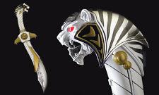 Mighty Morphin Power Rangers legado Saba espada hablando Sable Megazord Nuevo Sellado