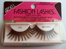 HUMAN HAIR ARDELL FASHION LASHES BROWN SEALED VINTAGE 100% HUMAN STERILE HAIR