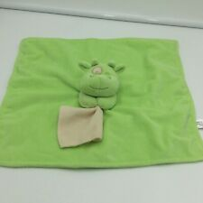 Anico Green Cow Security Baby Blanket Lovey Spot