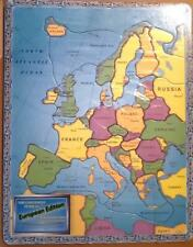 THE CONTINENT PUZZLES ~ # 653 ~  EUROPEAN EDITION ~ NEW