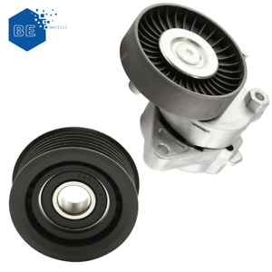 KIT Tensioner Pulley + Idler Pulley For Mercedes Benz S350 E320 C280 1122000970
