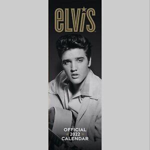 Elvis Presley 2022 Slim Wall Calendar