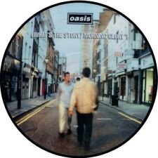 """OASIS WHATS THE STORY MORNING GLORY  VINYL STICKER 100MM 4 """" buy 2 get 1 free."""