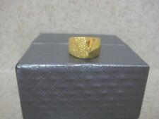 Lambert Cheng 24k Yellow Gold Yin Yang Polished & Textured Ring - Size 5