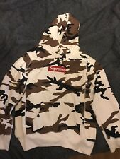 Supreme Box Logo Hoodie Cow Camo New Without Tags Large