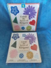 New 2 Sets Of Aitoh Unfold The Secrets of Kirigami