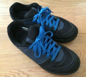 Shimano GR5 SH-GR500M Flat Pedal MTB Cycling Shoes Men's 44 US 9.7 Blue Lace Up