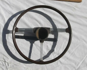 Old Steering Wheel Austin Hillman Ford Standard Singer Morris Vauxhall Vanguard
