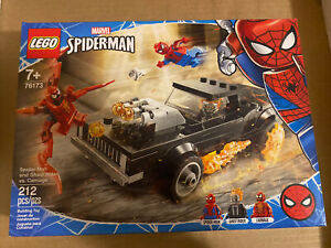 LEGO: Spider-Man & Ghost Rider VS Carnage, #76173, NEW/SEALED, 212 Pieces