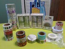 Variety of washi tape