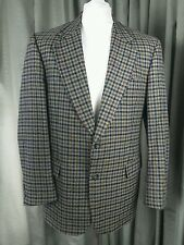 Cashmere Blend Check Sports Jacket by Odermark, fabric by Lanificio di Pray