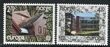 NORWAY 1987 EUROPA/MODERN ARCHITECTURE/WOOD/GLASS/STONE/BUILDINGS/HOUSES  MNH