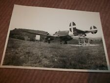 ORIG photo  Italian Caproni Ca.331 C.N. Raffica - Weapon Testing at Furbara ?