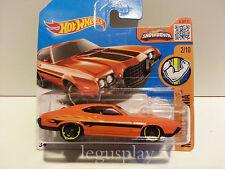Coche Mattel Hot Wheels DHR33 '72 Ford Gran Torino Sport Naranja  1/64