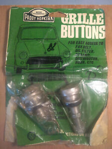 Austin Morris MINI Mk1 Mk2 Paddy Hopkirk Grille Buttons in Original Packaging