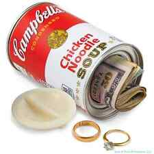 Campbell's ® Chicken Noodle Soup - Decoy Security Bank Safe - cash jewelry