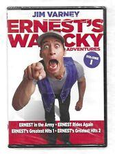 ERNEST WACKY ADVENTURES Volume 1 Jim Varney NEW R1