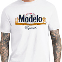 Modelo Time Especial Shirt Import Beer Cerveza Cool Funny Tee Mexico Party LA CA