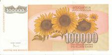 Jugoslawien / Yugoslavia - 100000 Dinara 1993 UNC - Pick 118
