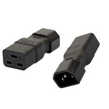 PXTC19C20143 C19 to C20-14 AWG Power Cable StarTech.com 3 ft Heavy Duty 14 AWG Computer Power Cord IEC 320 C19 to IEC 320 C20 Extension Cord