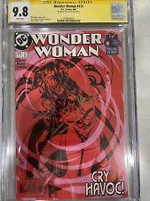 Wonder Woman #171 DC 8/1 CGC Grade 9.8 Signed By Gal Gadot