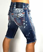 True Religion Brand Jeans $349 Men's Ricky Super T Straight Shorts - MC087WY1