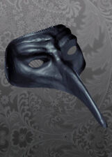 Halloween nero maschera stile medico della peste