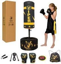 Viper Standing Boxing Punch Bag Children Training Kids Gloves Toy Black