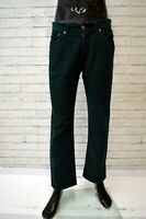Pantalone CARRERA Uomo Taglia 44 Jeans Pants Man Costine Verde Cotone Regular
