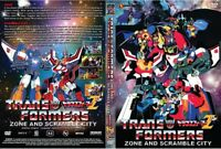 Transformers Movie 1: Scramble City + Transformers Movie 2: ZONE (Z) ~ DVD ~