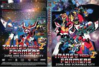 Transformers (2in1 Movie) Scramble City & Zone (Z) ~ All Region ~ Brand New ~
