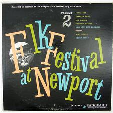 JOAN BAEZ,  SONNY TERRY/ OTHERS Folk Festival At Newport VOL2 1959 FOLK VG++ NM-
