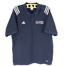 Adidas CLIMALITE Polo Size L RARE 2004 Loy Norrix Soccer Athletic Short Sleeve T