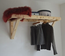 Hand Made, Natural Wood, Hanging Ladder