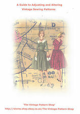 BOOKLET - 'A Guide to Adjusting and Altering Vintage Sewing Patterns'