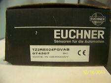 EUCHNER SAFETY INTERLOK SWITCH  PN:  TZ2RE024PGVAB   ( 074307)   NEW