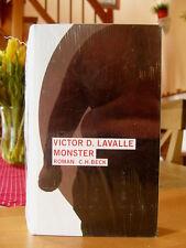"Victor D. Lavalle  ""Monster""   gebundene Ausgabe, neu, Klaus Modick"
